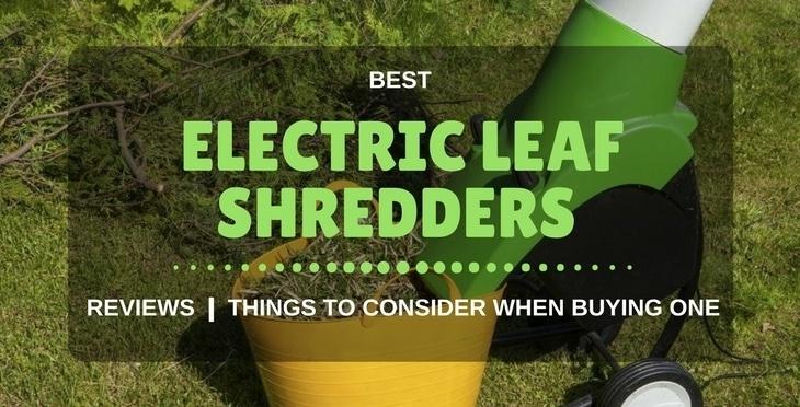 best electric leaf shredders