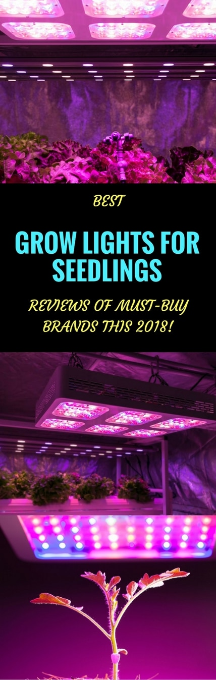 best grow lights for seedlings pin it