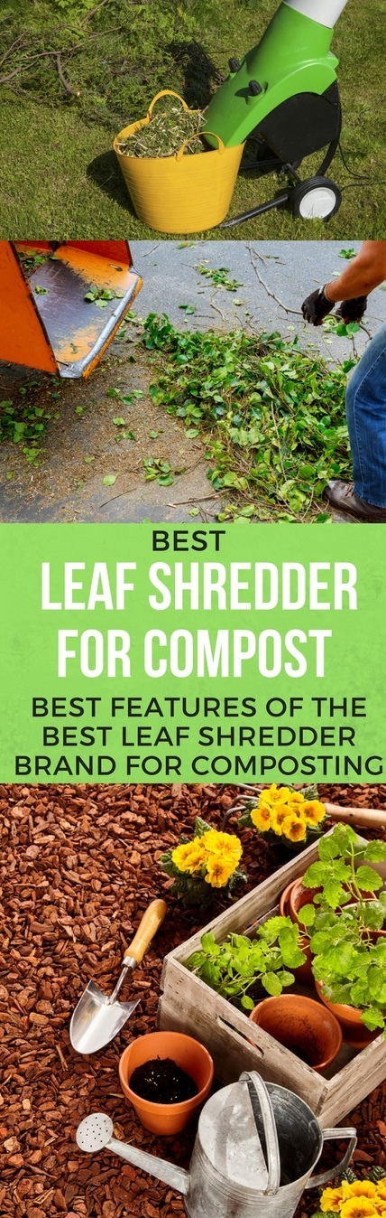 best leaf shredder for compost pin it