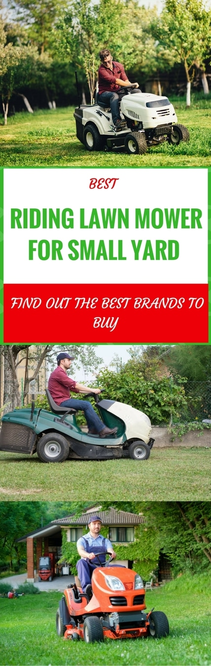best riding lawn mower for small yard pin it