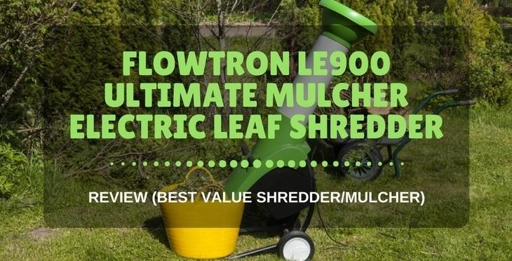 Flowtron LE900 ultimate mulcher electric leaf shredder