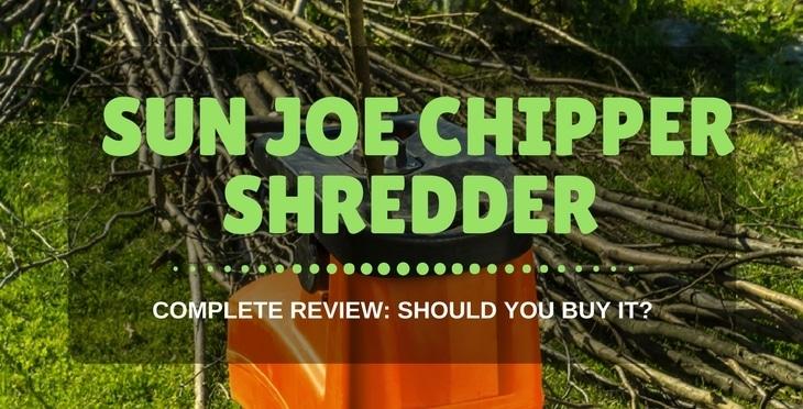 Sun Joe Chipper Shredder review