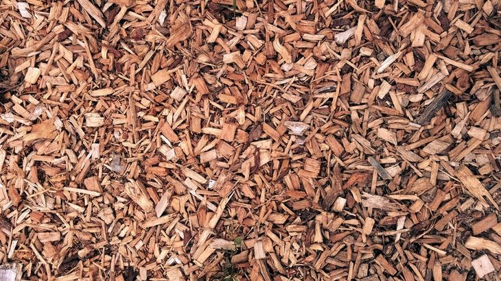 Wood chips can clutter up your garden if not cleaned up thoroughly
