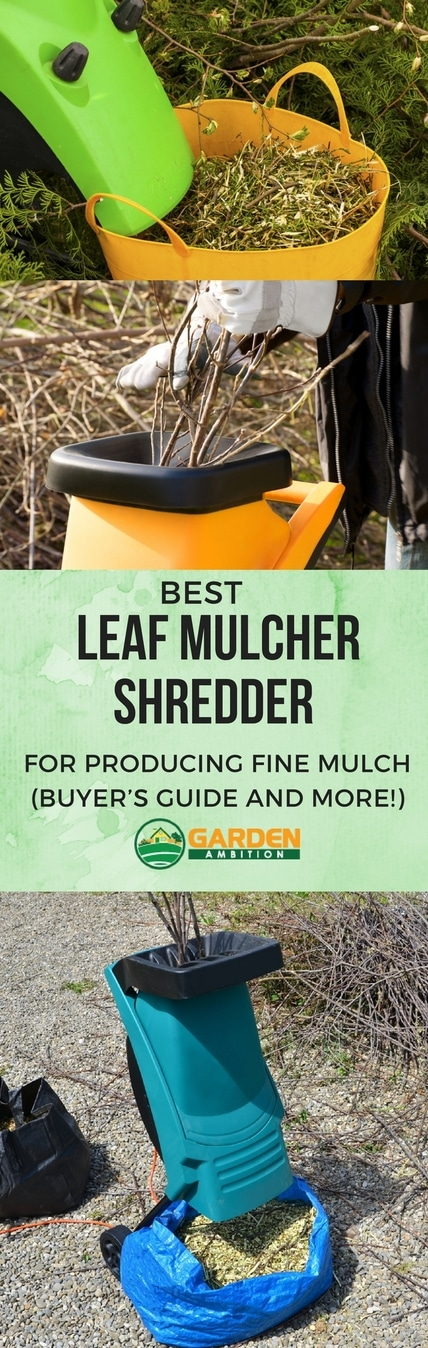 best leaf mulcher shredder pin iit