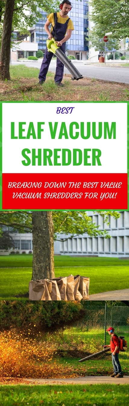 best leaf vacuum shredder pin it
