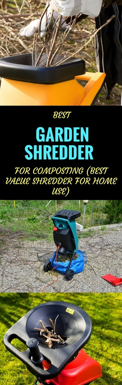 Best Garden Shredder for Composting pin it