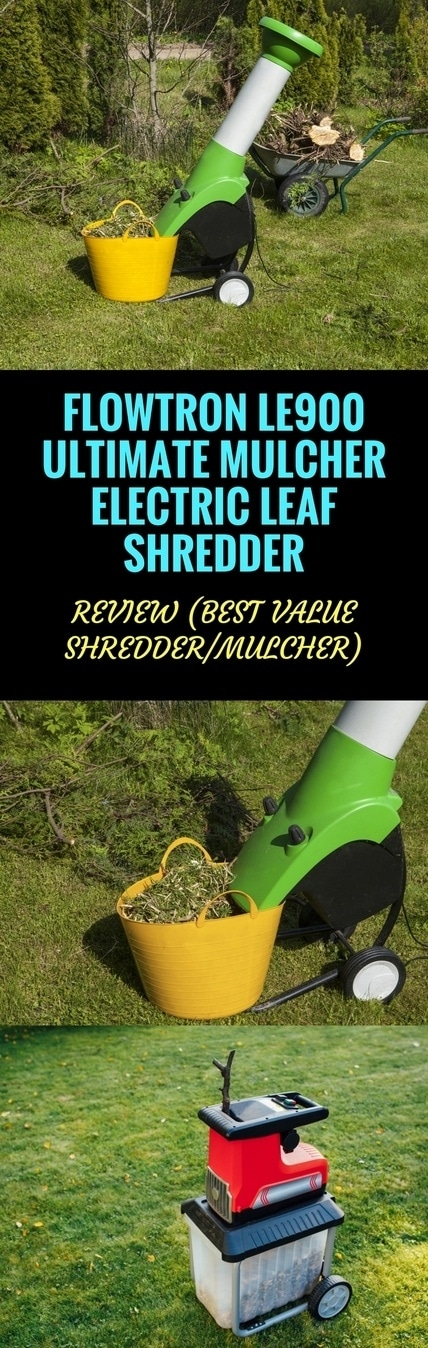 FLOWTRON LE900 ULTIMATE MULCHER ELECTRIC LEAF SHREDDER pin it