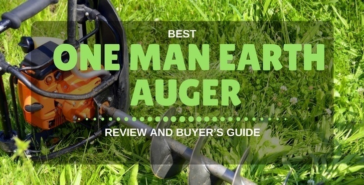 ONE MAN EARTH AUGER