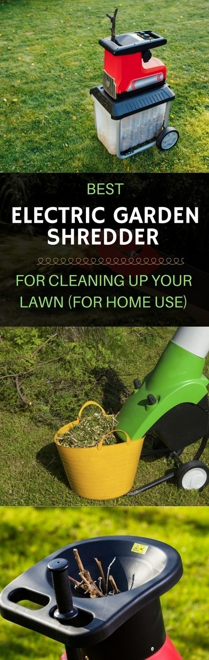 best electric garden shredder pin it