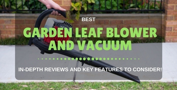 best garden leaf blower and vacuum