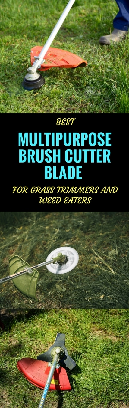 best multipurpose brush cutter blades pin it