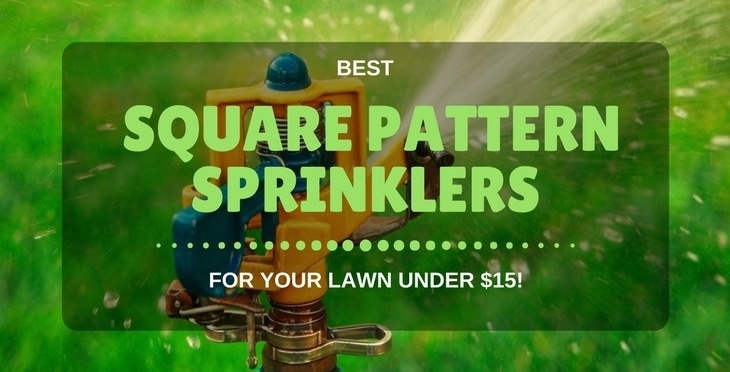 the best square pattern sprinkler