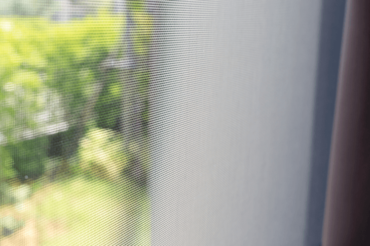 A netted design makes it possible for you to block off any insect that would attempt to enter