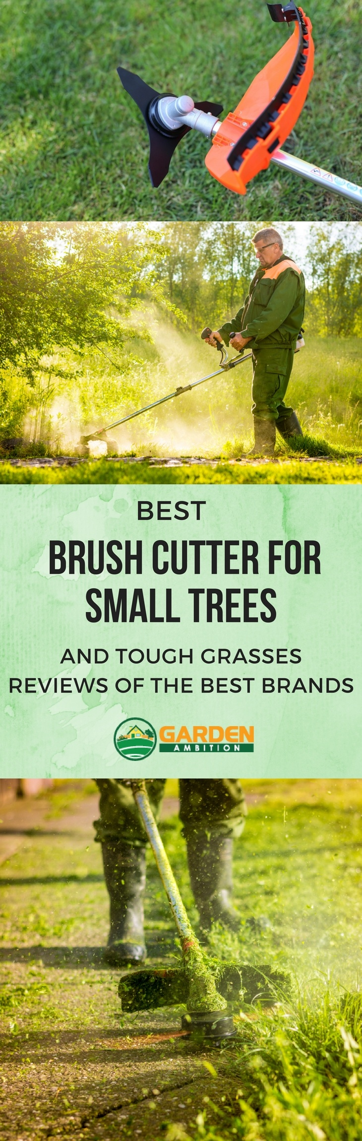 best brush cutter for small trees pin it