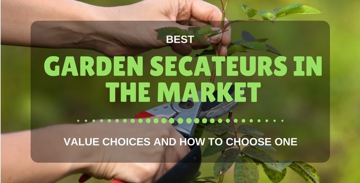 best garden secateurs