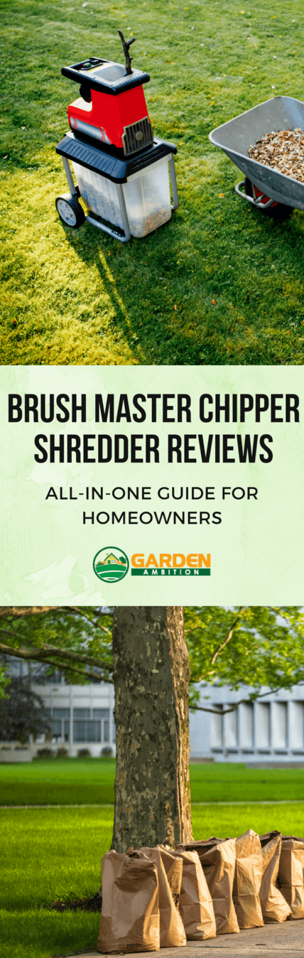 Brush Master chipper shredder reviews pin it