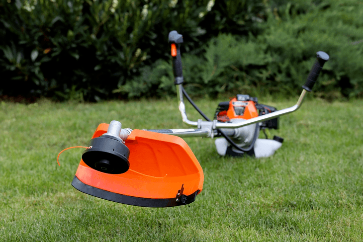 Popular brands of gardening equipment includes Husqvarna, Echo, Tanaka, Stihl, and Troy-Bilt