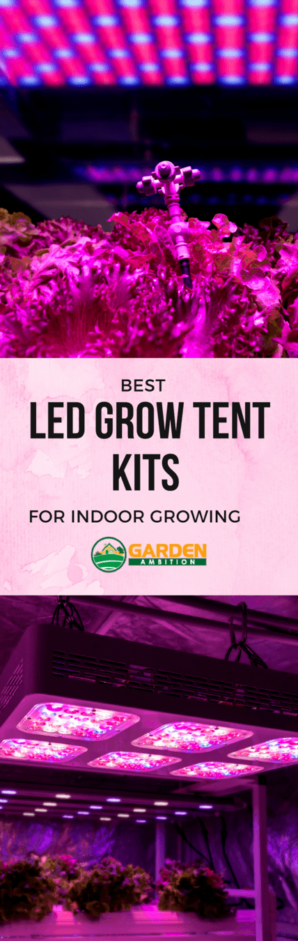 best LED grow tent kits pin it