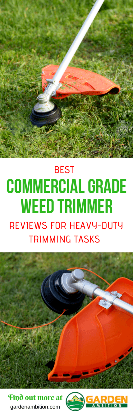 best commercial grade weed trimmer pin it