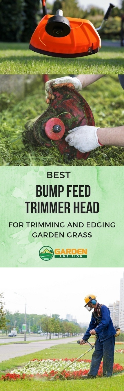 bump feed trimmer head pin it