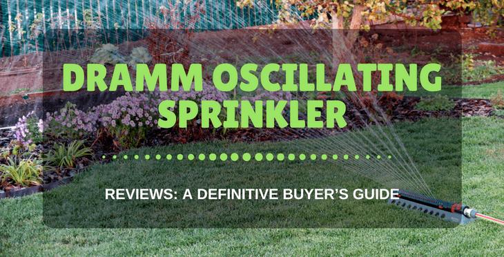 Dramm Oscillating Sprinkler